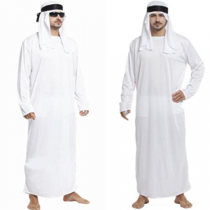 Middle East Arab Prince King Clothes Dubai Emirates Robes Halloween Cosplay font b Costumes b font 300x300 If Youre White, Halloween is Racist (According to the Left) middle east arab prince king clothes dubai emirates robes halloween cosplay font b costumes b font
