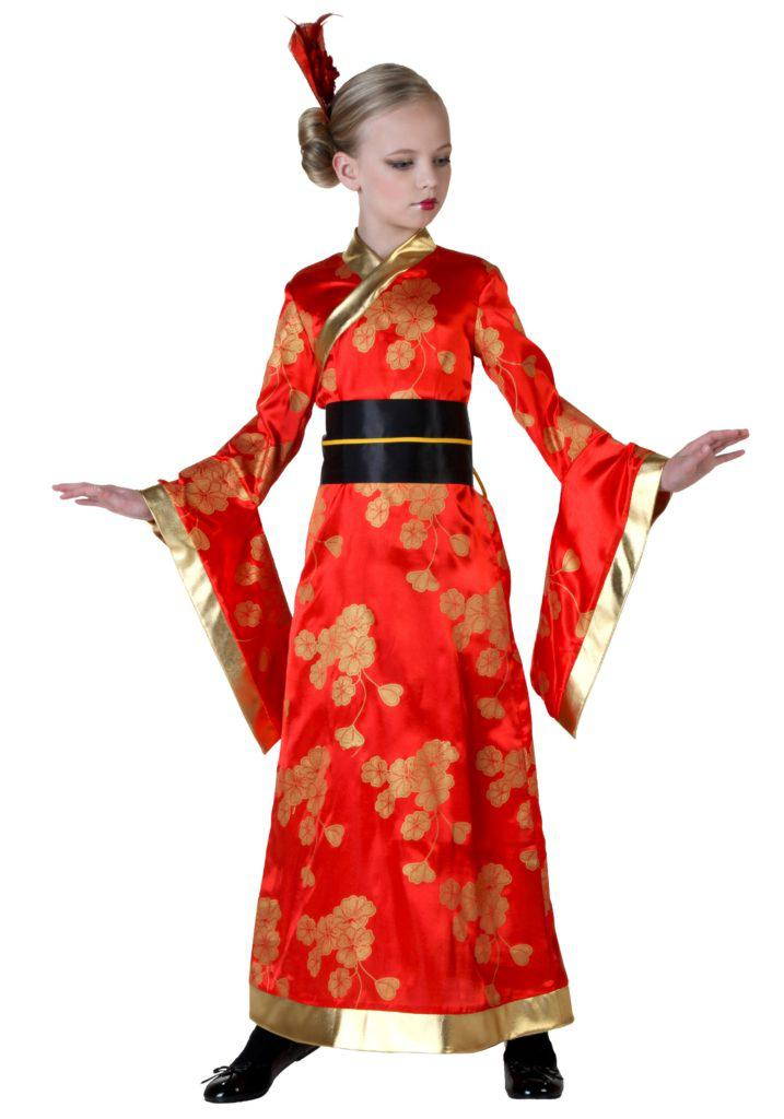 child geisha costume 717x1024 If Youre White, Halloween is Racist (According to the Left) child geisha costume