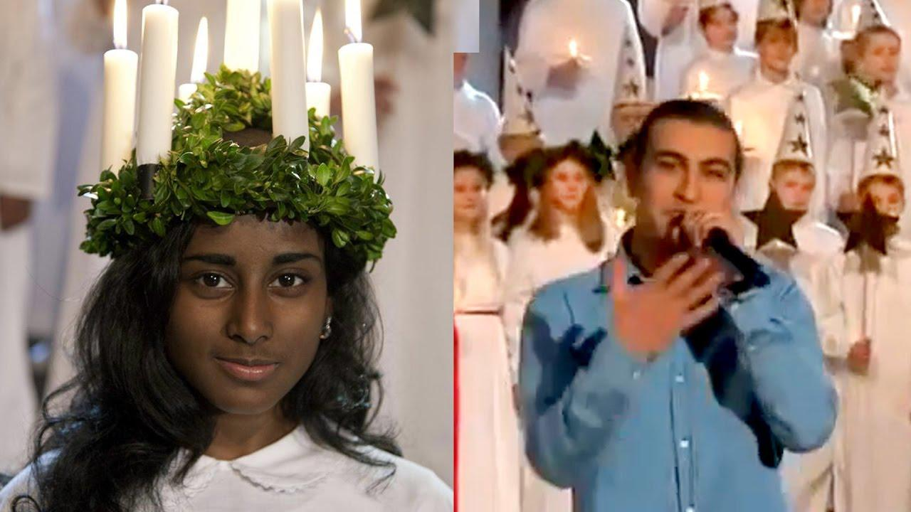 SWEDEN YES! Black Lucia, Muslim Rapper – St. Lucy's Day