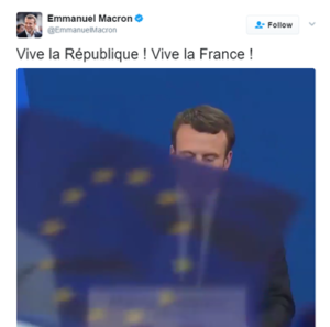 macrontweet1 300x297 Who is Emmanuel Macron?