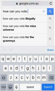 1 Google Vote 183x300 Is Googles Information Monopoly Too Dangerous? | Search Engines Compared by Steve Cioccolanti