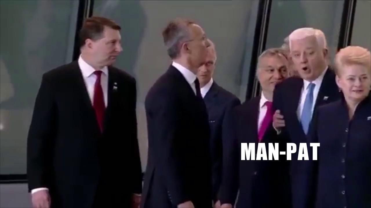 "VIDEO: Trump's ""Shove"" Mansplained"